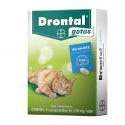 Imagem - Drontal Gatos com 4 Comprimidos