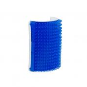 Escova Massageadora de Parede Coçadinha Truqys Pet Azul