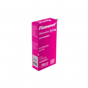 Flamavet Anti-inflamatório para Cachorros 0,5mg 10 comprimidos