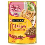 Imagem - Alimento Úmido Sachê Friskies Frango e Fígado Gatos 85g