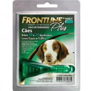 Antipulgas e Carrapatos Frontline Plus Cachorros 10 a 20kg