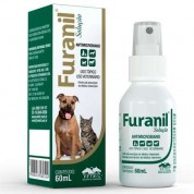 Furanil Spray Antimicrobiano Para Cães Gatos e Equinos 60ml