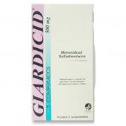 Giardicid 500mg com 05 Comprimidos