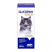 Imagem - Glicopan Gold Suplemento Aminoácido Para Animais 30ml