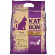 Granulado Sanitário 100% Natural KatBom Biodegradável Gatos 3kg