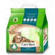 Granulado Sanitário Cats Best Sensitive 2,9kg