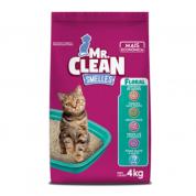 Granulado Sanitário Mr Clean Floral Gatos 4kg