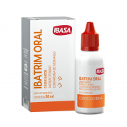 Ibatrim Oral Ibasa Cães e Gatos 20ml