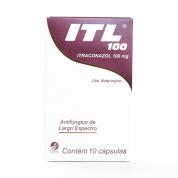 Imagem - ITL 100 Itraconazol 100mg 10 Cápsulas