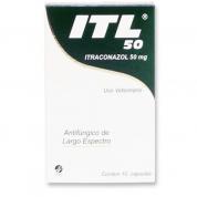 Imagem - ITL 50 Itraconazol 50mg 10 Cápsulas