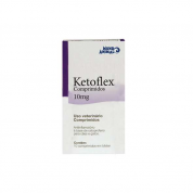Ketoflex 10mg Caixa com 10 Comprimidos