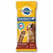 kit 10 unidades Osso Dentastix Pedigree 7 Unidades Cães Raças Grandes 270g