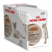 Kit 12 Sachê Royal Canin Ageing +12 85g