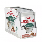 Kit 12 Sachê Royal Canin Gravy Instinctive +7 85g