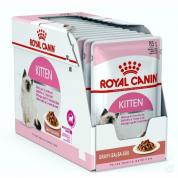Kit 12 Sachê Royal Canin Kitten Filhote 85g