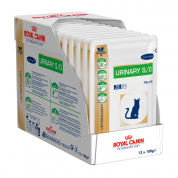 Kit 12 Sachê Royal Canin Urinary S/O Wet Gatos Sachê 100g