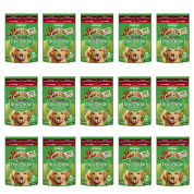 Kit 15 Sachê Dog Chow Extralife Cachorros Adultos Carne 100g