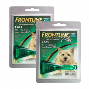Kit 2 Antipulgas e Carrapatos Frontline Plus Cachorros até 10kg
