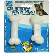Imagem - Kit 2 Brinquedos Osso PP Buddy Toys Para Cães em Nylon Mega Resistente