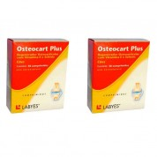 Kit 2 Osteocart Plus Total 60 Comprimidos