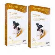 Kit 2 Revolution 12% Cães de 5 a 10kg - 1 Ampola