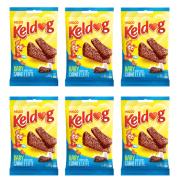 Imagem - Kit 6 Bifinhos Keldog Baby Sabor Carne e Leite 65g