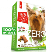 Mini Snacks para Cães OnebyOne Zero Mix de Vegetais - 300g