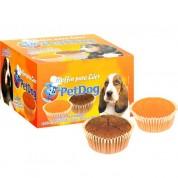 Muffin PetDog Para Cães 16 Unidades 30g Misto: Chocolate, Coco e Laranja
