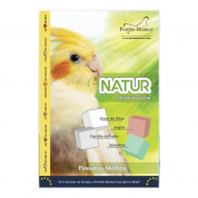 NaturBlocos Especiais Pássaros Médios Pombo Branco 4 unidades