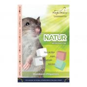 NaturBlocos Especiais Roedores Pombo Branco 4 unidades