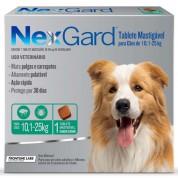 Imagem - NexGard Antipulgas e Carrapatos Cães 10,1 a 25kg