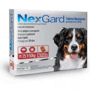 NexGard Antipulgas e Carrapatos GG Cães 25 a 50kg 3 comprimidos