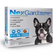 NexGard Antipulgas e Carrapatos M Cães 4 a 10kg 3 comprimidos