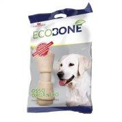 Ossinho Para Cachorro Integral 100% Vegetal Nó 3/4 - Pacote com 2 Unidades