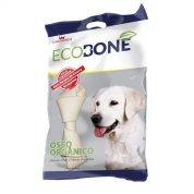 Ossinho Para Cachorro Natural 100% Vegetal Nó 3/4 - 2 Unidades
