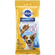 Imagem - Petisco Osso Dentastix Pedigree Cachorros Raças Pequenas 3 unidades 45g