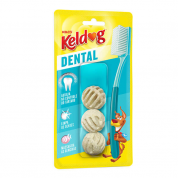 Imagem - Osso Keldog Dental Bolinha com 3 unid 50g