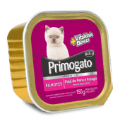 Patê Primogato Premium Peru e Frango Filhotes 150g