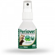 Periovet Spray Bucal Cães Gatos e Equinos 100ml