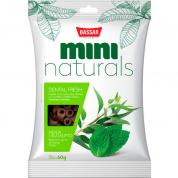 Petisco Bassar Mini Naturals Dental Fresh Menta e Eucalipto Cachorros 60g