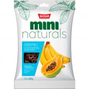 Petisco Bassar Mini Naturals Digestão Mamão e Banana 60g