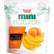 Petisco Bassar Mini Naturals Fit Banana e Abóbora 300g