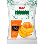 Petisco Bassar Mini Naturals Fit Banana e Abóbora 60g