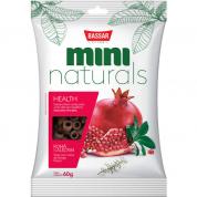 Petisco Bassar Mini Naturals Health Romã e Alecrim 60g