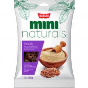 Petisco Bassar Mini Naturals Vigor Quinoa e Amaranto 60g