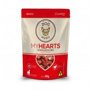 Petisco Dog Menu My Hearts Marmorizado 60g