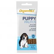 Petisco Funcional Organnact Puppy Palitos Cachorros Filhotes Sachê 42g