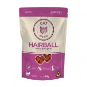 Petisco Luopet Cat Menu Hairball Anti Bolas de Pelo 40g