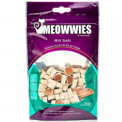 Petisco Meowwies Mini Sushi Gatos 80g