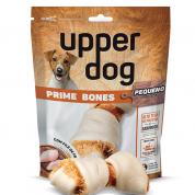 Petisco Natural Osso Nó Pequeno Prime Bones Twist Upper Dog 60g
